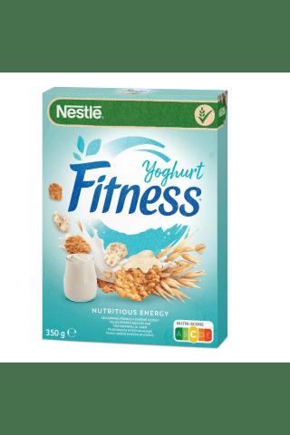 Nesmulkintų kviečių ir avižų dribsniai ir jogurtu glaistyti dribsniai nestle Fitness Yogurt su vitaminais ir mineralinėmis medžiagomis