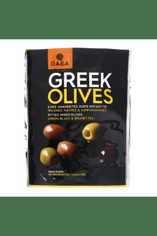Marinētas olīvas GAEA bez kauliņiem dažādas 150g