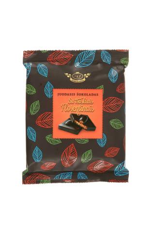 Juodasis šokoladas su traškiu florentinu AJ ŠOKOLADAS, 110 g
