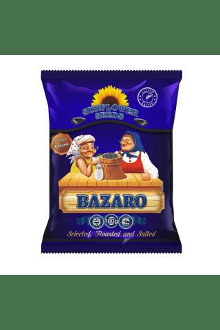 Melnas grauzdētas sālītas saulespuķu sēklas bazarnyje 100g