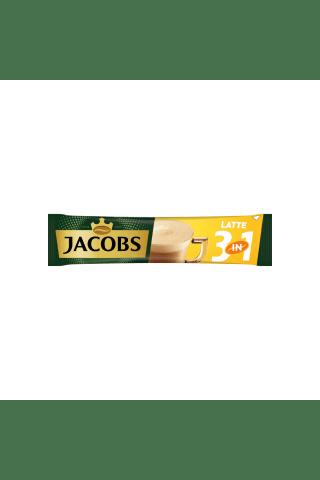 Tirpus kavos gėrimas JACOBS CAFE LATTE, 12,5 g
