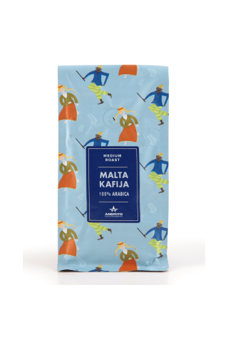 Kafija malta Andrito Arabica 250g