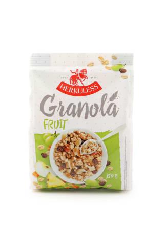 Grauzdēts granola musli Herkuless ar augļiem 350g