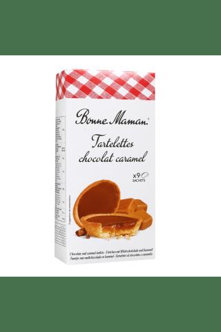 Sausainiai tarteletės su karamele ir šokoladu BONNE MAMAN, 135 g