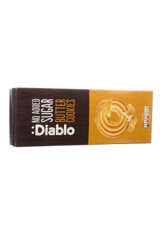 Sviestiniai sausainiai be cukraus DIABLO, 135 g