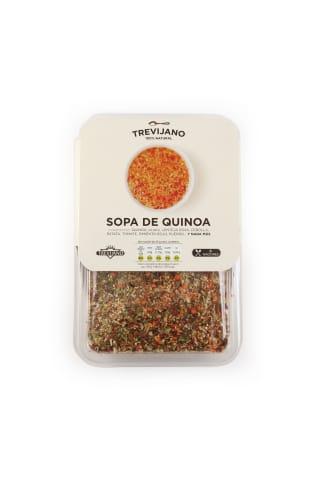 Zupa Trevijano ar kvinoja graudiem 200g