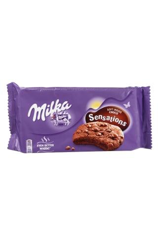 Sausainiai MILKA sensations choco 156g