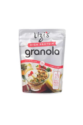 Müsli Lizi''s granola kõrge proteiinisisaldus