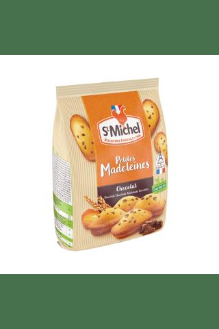Keksiukai prancūziški madeleines su šokolado gabaliukais ST MICHEL, 175 g