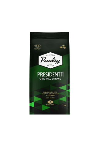 Presidentti original strong 4x1 kg pupiņas