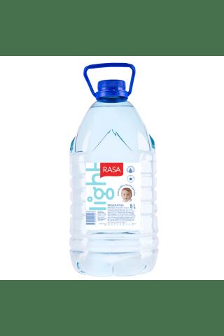 Natūralus negazuotas mineralinis vanduo RASA LIGHT MINERALS, 5 l