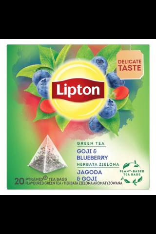 Lipton zaļā tēja ar mellenēm un godži 20TM 28g
