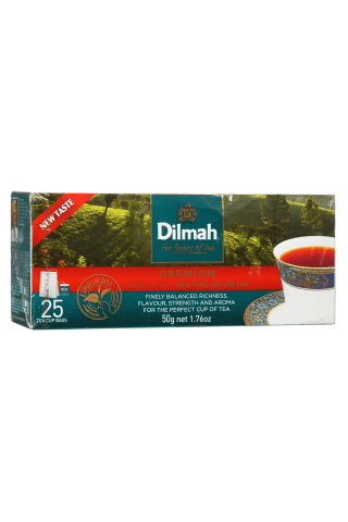 Melnā tēja Dilmah premium 25x2g