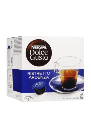 Kafijas kapsulas Nescafe Dolce gusto Ristretto ardenza 16gab. 112g