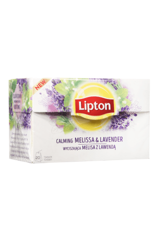 Melisas tēja Lipton ar lavandu 67g
