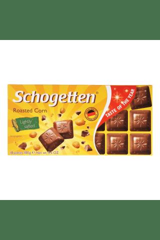 Šokolāde Schogetten roasted corn 100g