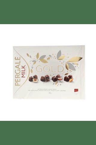 Saldainių rinkinys Pergalė Gold, 382g