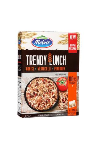 Grudų, kviečių ir džiovintų pomidorų mišinys TRENDY LUNCH, 4x100 g