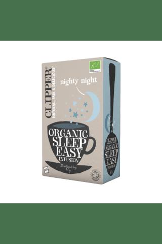 Bio augu tēja Clipper organic sleep easy infusion vieglam miegam 20x2g