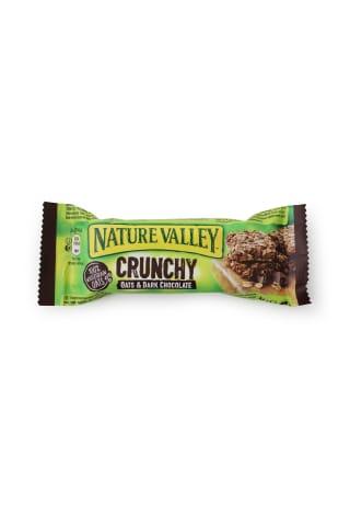 Dribsnių batonėlis NATURE VALLEY su šokoladu, 42g