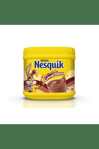 Šķīstošais kakao dzēriens Nesquik extra-choco 600g