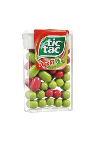 Dražė TIC TAC apple mix obuolių skonio 18g