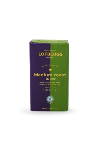 Malta kafija Lofbergs medium roast in cup ra 500g