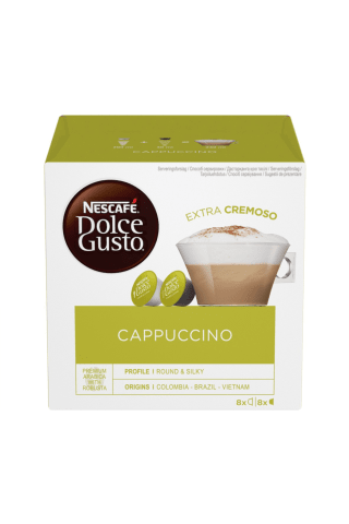 Kafijas kapsulas Nescafe Dolce Gusto Cappuccino 186,4g
