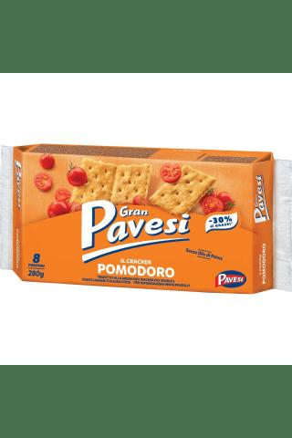 Traškūs sausainiai su džiovintais pomidorais PAVESI, 280 g