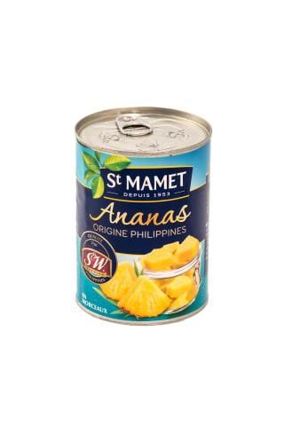 Ananasu gabaliņi Mamet sīrupā 570g