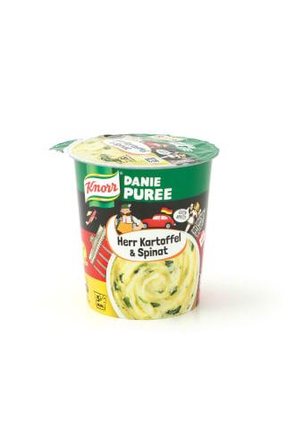 Kartupeļu biezenis Knorr Herr Kartoffel&Spinat 47g