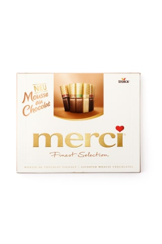Šokolades izlase Merci Mousse 210g