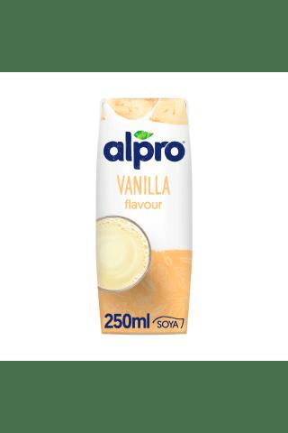 Vanilinis sojos gėrimas ALPRO, 0,25 l