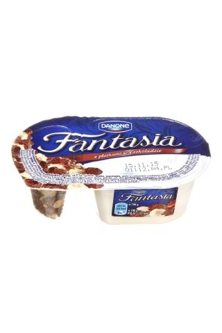 Kreminis jogurtas su šokoladiniais kukurūzų dribsniais FANTASIA, 8,5% rieb., 106 g