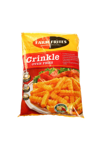 Šaldytos bulvytės FARM FRITES, 750 g