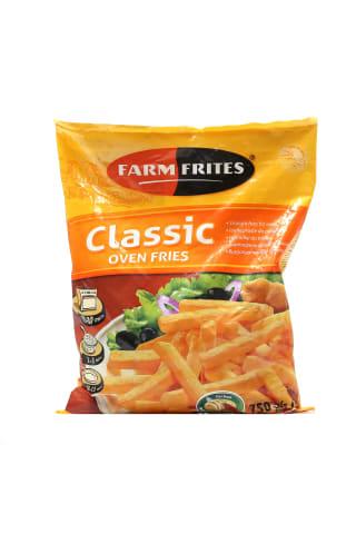 Kartupeļi frī Farmfrites taisni saldēti 750g
