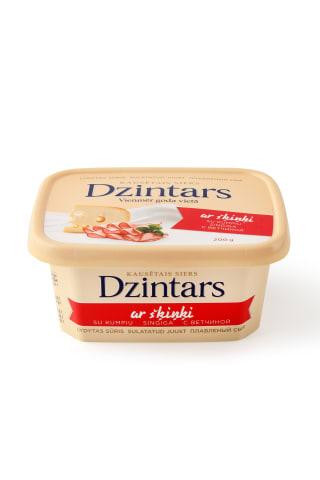 Kausētais siers Dzintars ar šķiņķi 200g