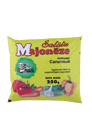 Majonēze Francis salātu 250g