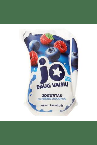 Jogurtas su miško uogomis JO, 2,5% rieb., 900 g