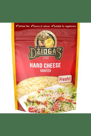 Kietas sūris DŽIUGAS, 40% riebumo, 100g (po. s.m. tarkuotas)