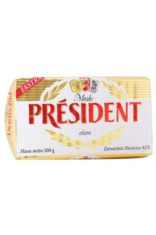 Sviests President ekstra 82% 200g