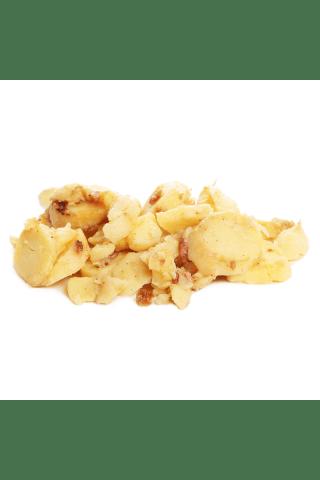 Kartupeļi ar šķiņķi cepti kg