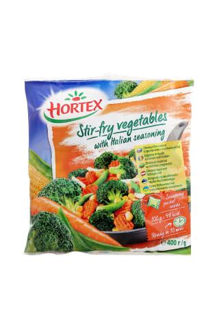Šaldytos daržovės kepimui su itališkais prieskoniai HORTEX, 400 g
