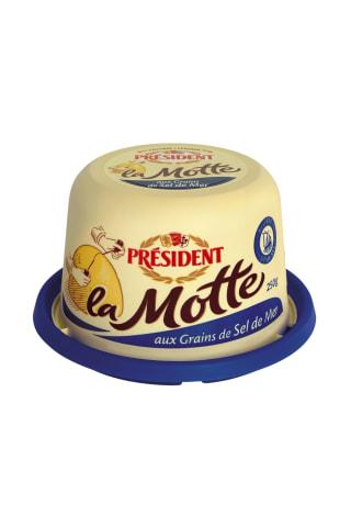 Sviests President ar jūras sāli 82% 250g