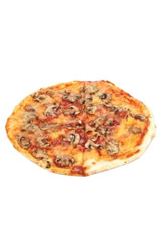 Pica ar šampinjoniem