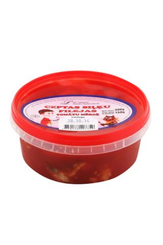 Siļķu fileja asā tomātu mērcē cepta 300g