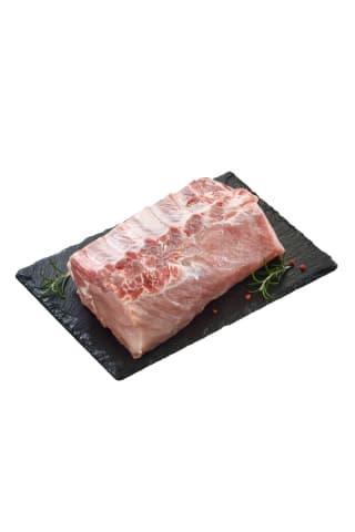 Atšaldyta kiaulienos nugarinė su šonkauliais,1 kg