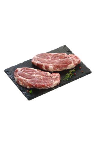Atšaldyta kiaulienos sprandinė su kaulu,1 kg