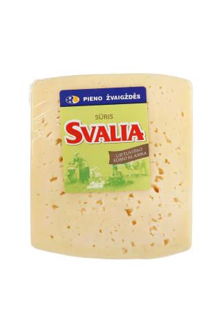 Puskietis fermentinis sūris SVALIA, 45% rieb., 1 kg