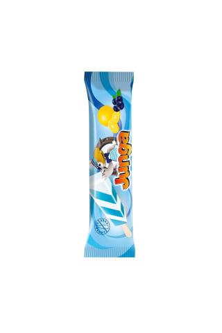 Mėlynių ir citrinų skonio ledai JUNGA, 75 ml
